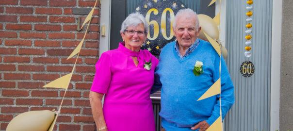 Familie Van Hoof 60 jaar getrouwd